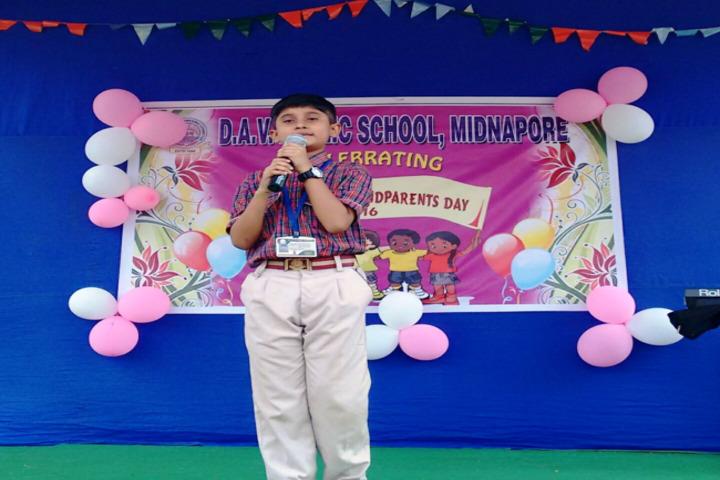 DAV Model School-Grand Parents Day Celebrations