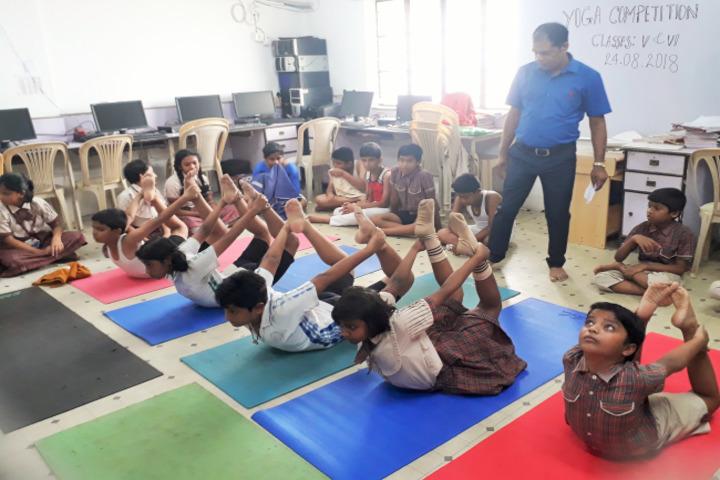 DAV Model School-Yoga