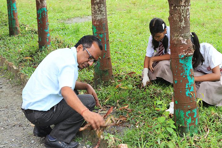 Darjeeling Public School-Environment Day Celebrations