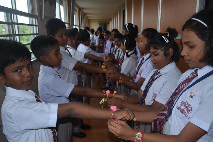 Darjeeling Public School-Rakhi Celebrations