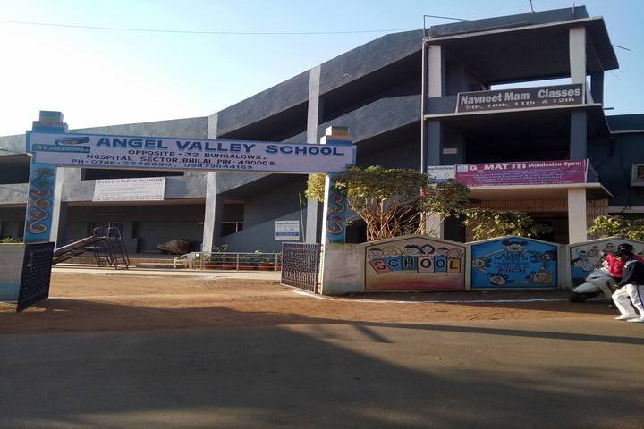 Angel Valley School Bhilai-Entrance