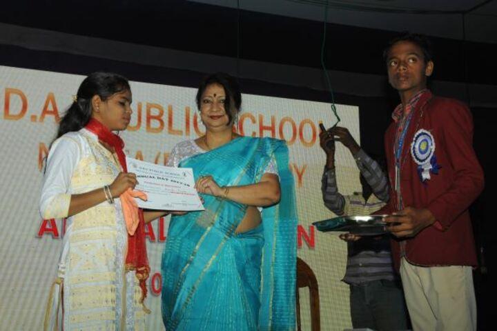 Dav Public School-Felicitation