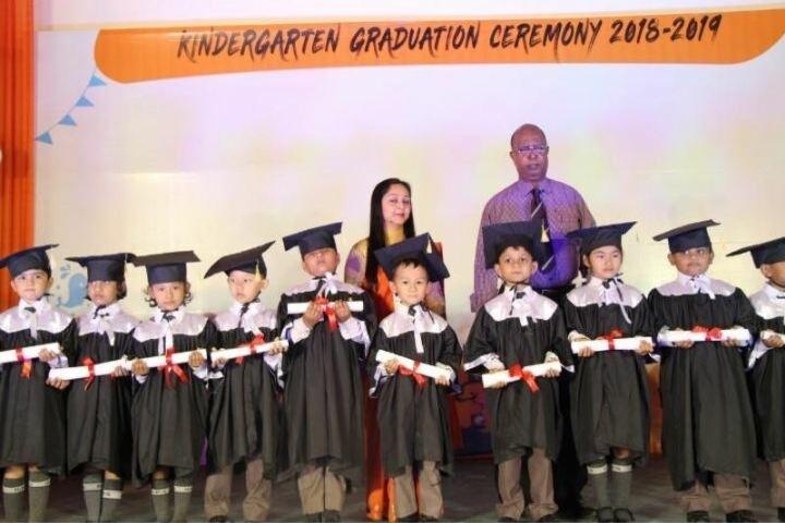 Delhi Public School-Graduaation Day