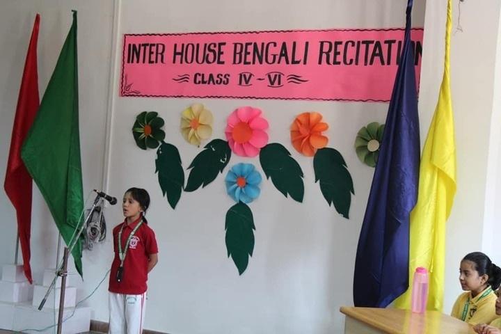 Delhi Public School-Recitation
