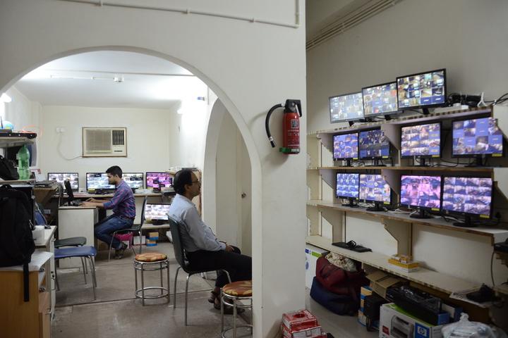 Delhi Public School-CCTV Room