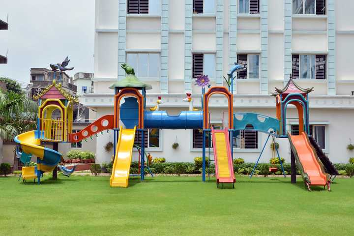 Delhi Public School-Play Area For Kinder Garten