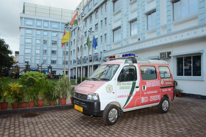 Delhi Public School-School Ambulance