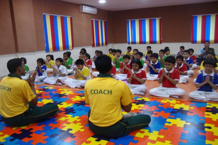 Delhi Public School-Yoga Class