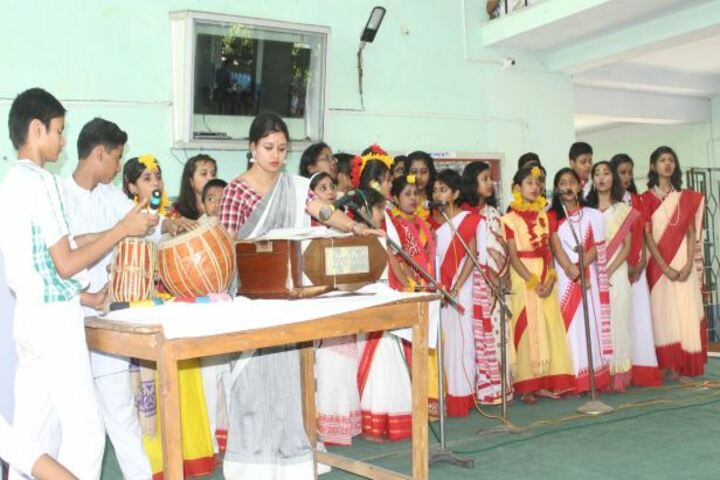 Devi Sushila Khedia Dav Public School-Music Class