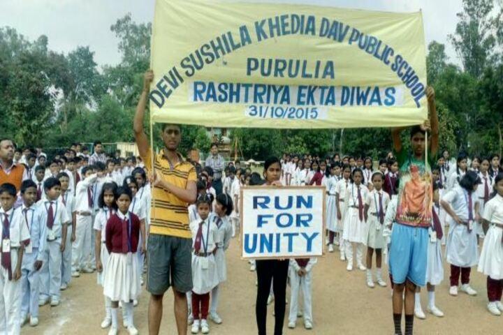 Devi Sushila Khedia Dav Public School-Run Marathon