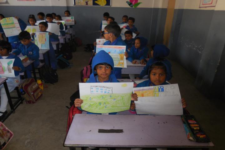 Durgapur Public School-Art Contest