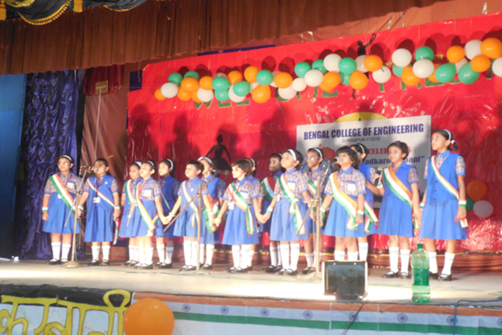 Durgapur Public School-Independence Day Celebrations
