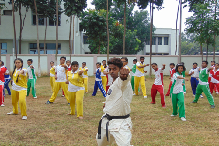 Durgapur Public School-Karate