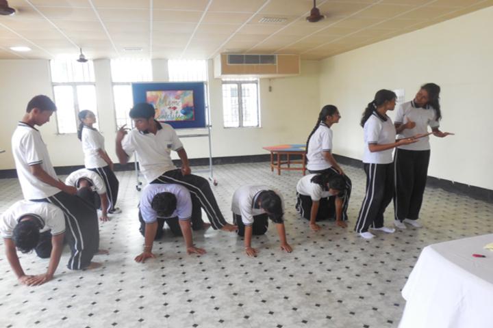 Durgapur Public School-Mime Compitition