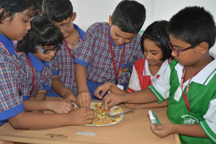 Durgapur Public School-Non Fire Cooking Compitition