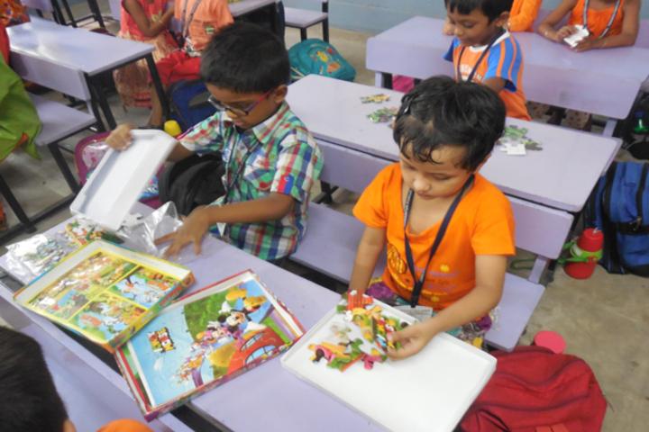 Durgapur Public School-Puzzle Activity