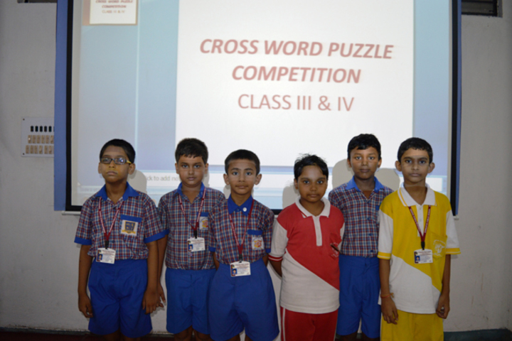 Durgapur Public School-Word Puzzle compitition