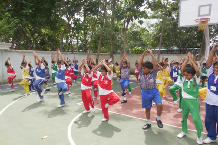 Durgapur Public School-Yoga Day