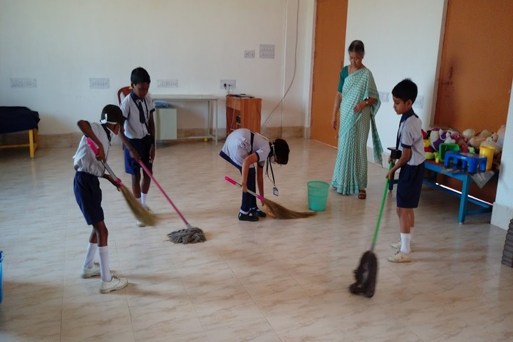 Filix School Of Education-Cleaning Activity
