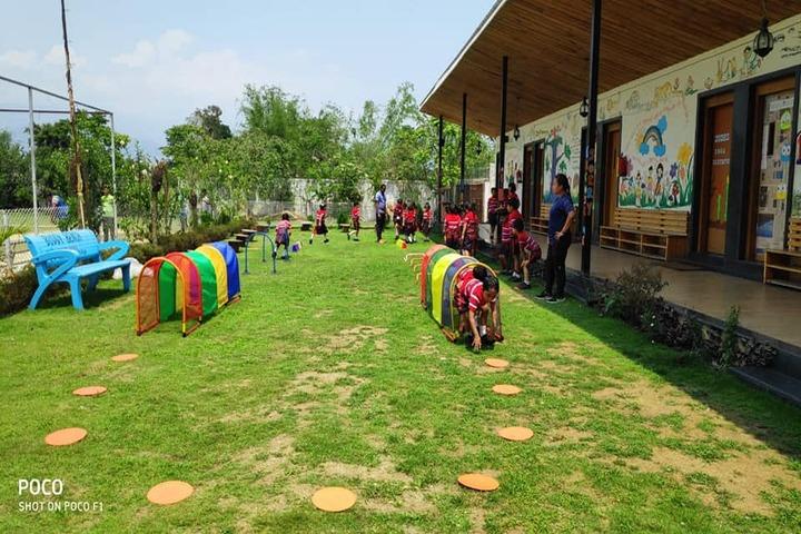 G D Goenka Public School-Play Ground