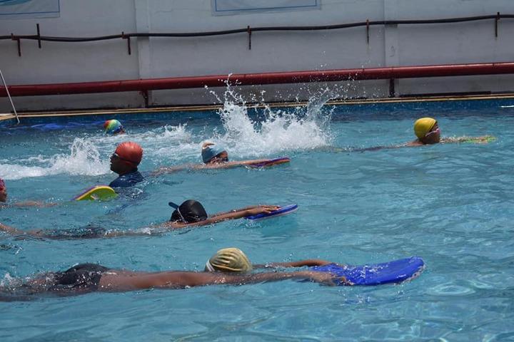 G D Goenka Public School-Swimming Pool Activity