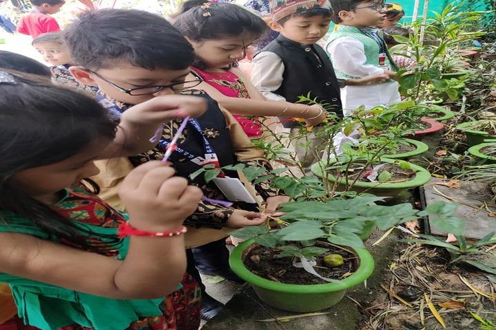 G D Goenka Public School-Tree Plantation