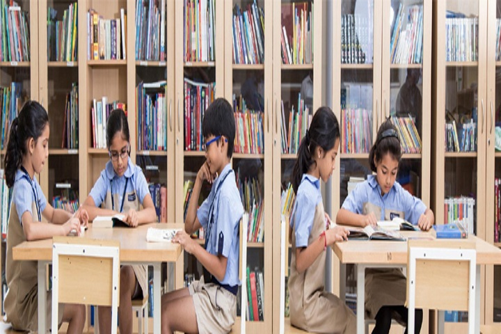 Grace English School-Library