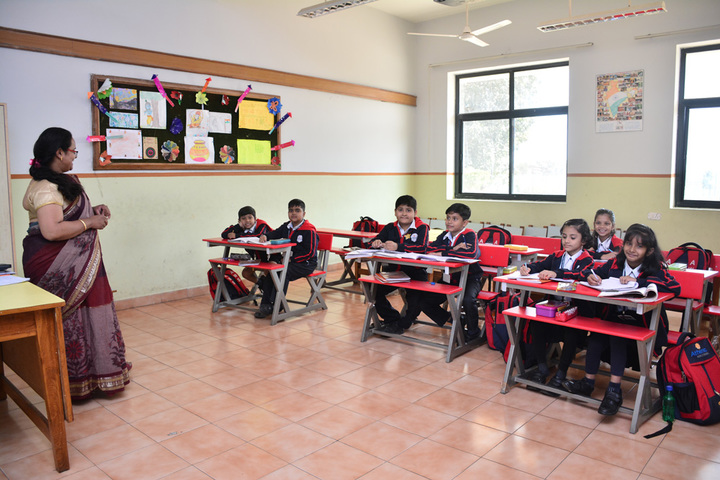 Athena World School- Classroom
