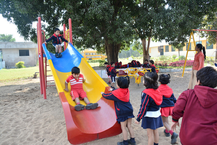 Athena World School- Kids Play Park