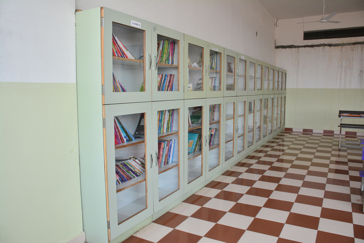 Athena World School- Library