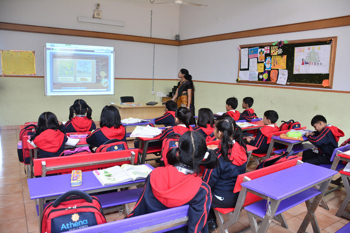 Athena World School- Smart Class
