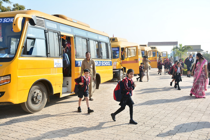 Athena World School- Transport
