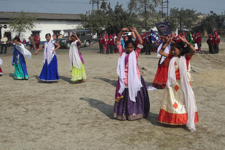 Guru Nanak Public School-Dancing Activity