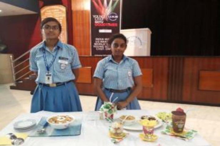 Haryana Vidya Mandir-Food Making Competition