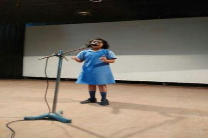 Haryana Vidya Mandir-Singing Competition