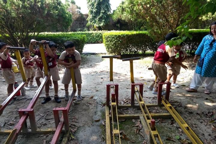 Hebron School-Play Area