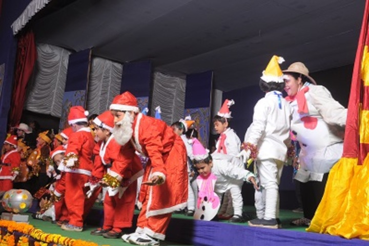 Hem Sheela Model School-Christmas Celebrations