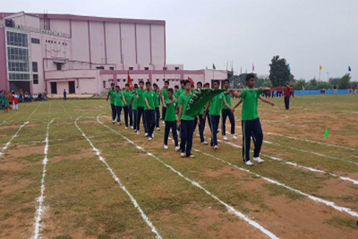 Hem Sheela Model School-Sports Day