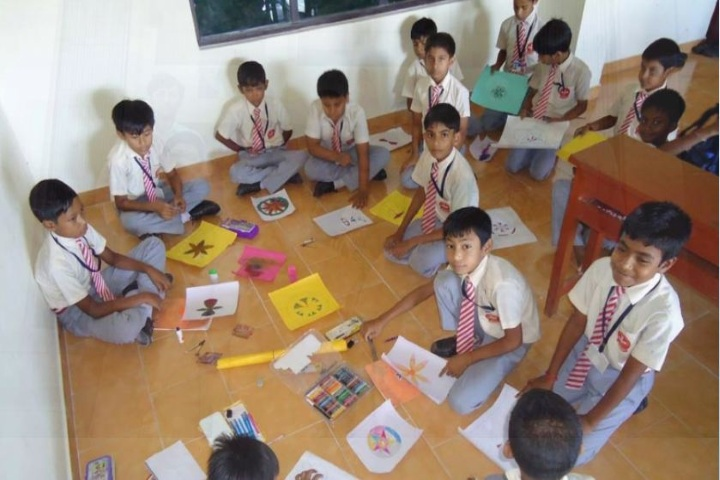 Holy Cross School-Painting Competition