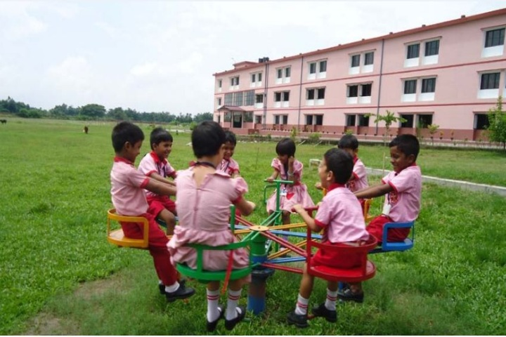Holy Cross School-Playing Area