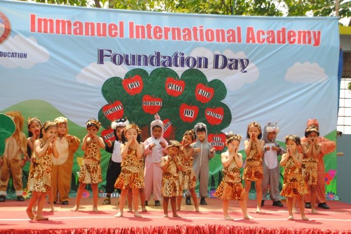 Immanuel International Academy-Foundation Day