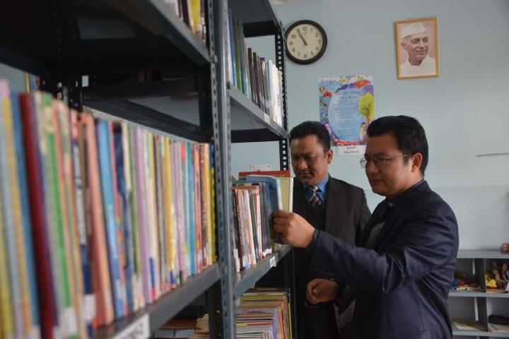 Immanuel International Academy-Library