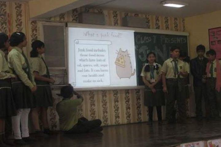 Indira Gandhi Memorial High School-AV Room