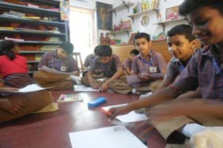 Jagriti Public School-Library