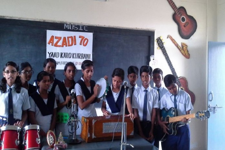 Jawahar Navodaya Vidayalaya-Music classes