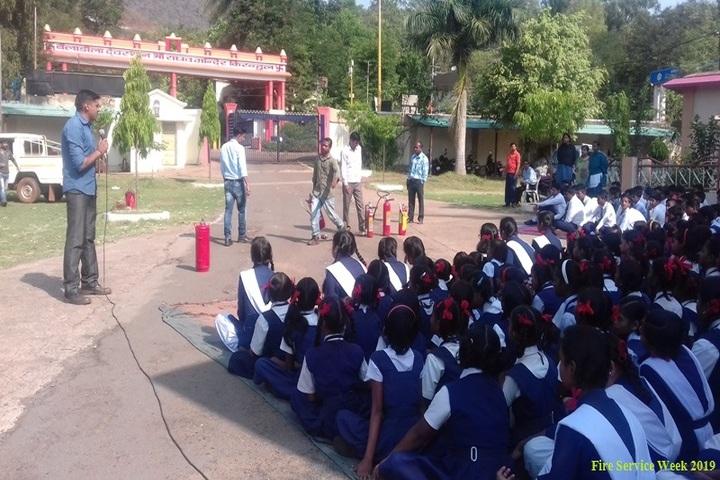 Bailadila Iron Ore Project Senior Secondary School-Fire Service Week