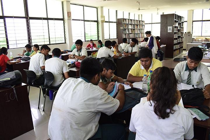 Jyotirmoy Public School-Library
