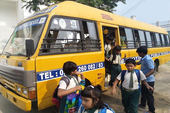 Jyotirmoy Public School-Transport