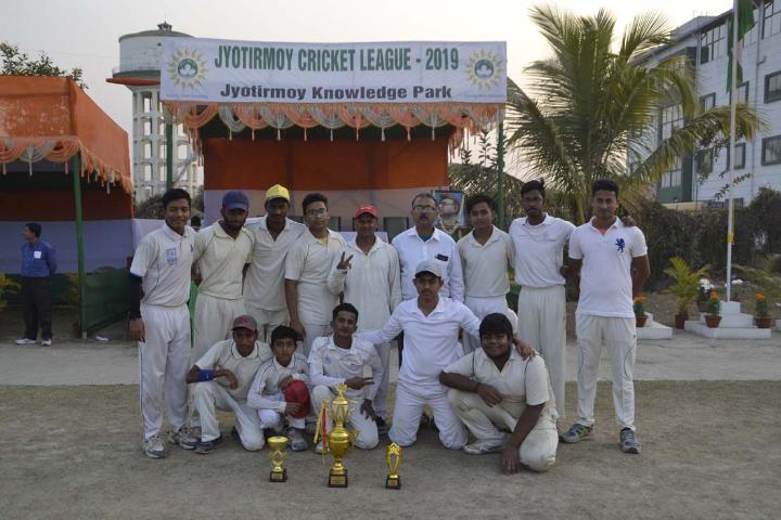 Jyotirmoy Public School- Sports Champions