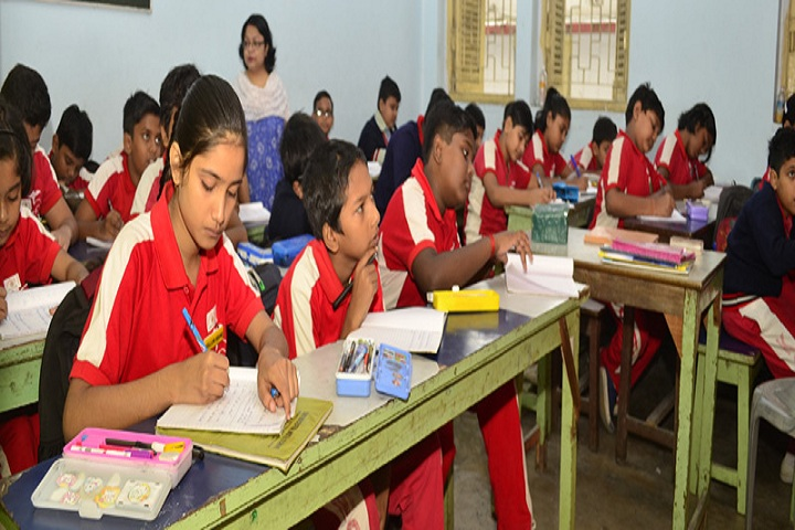 Kalyani Central Model School-Classroom